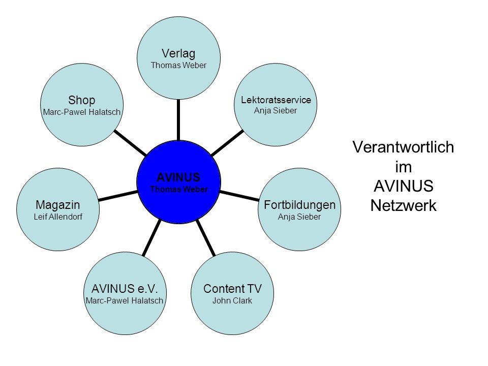 Verantwortlich im AVINUS Netzwerk