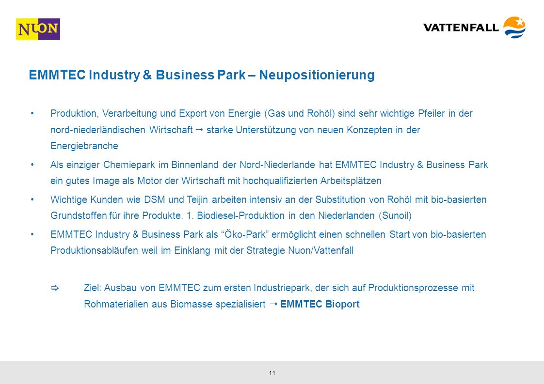 EMMTEC Industry & Business Park – Neupositionierung
