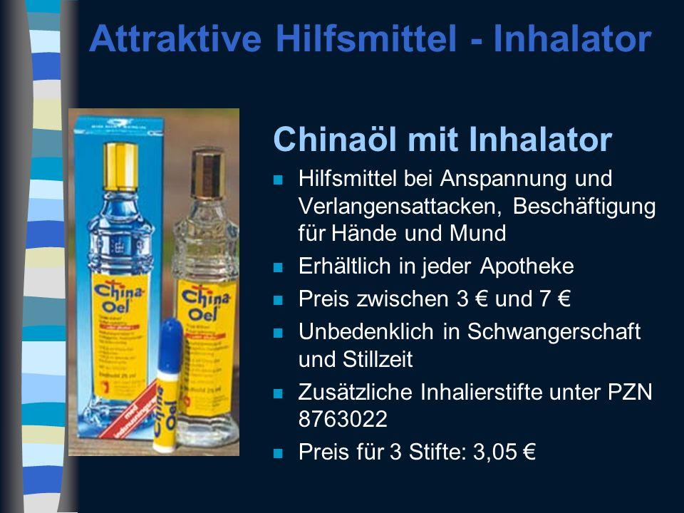 Attraktive Hilfsmittel - Inhalator