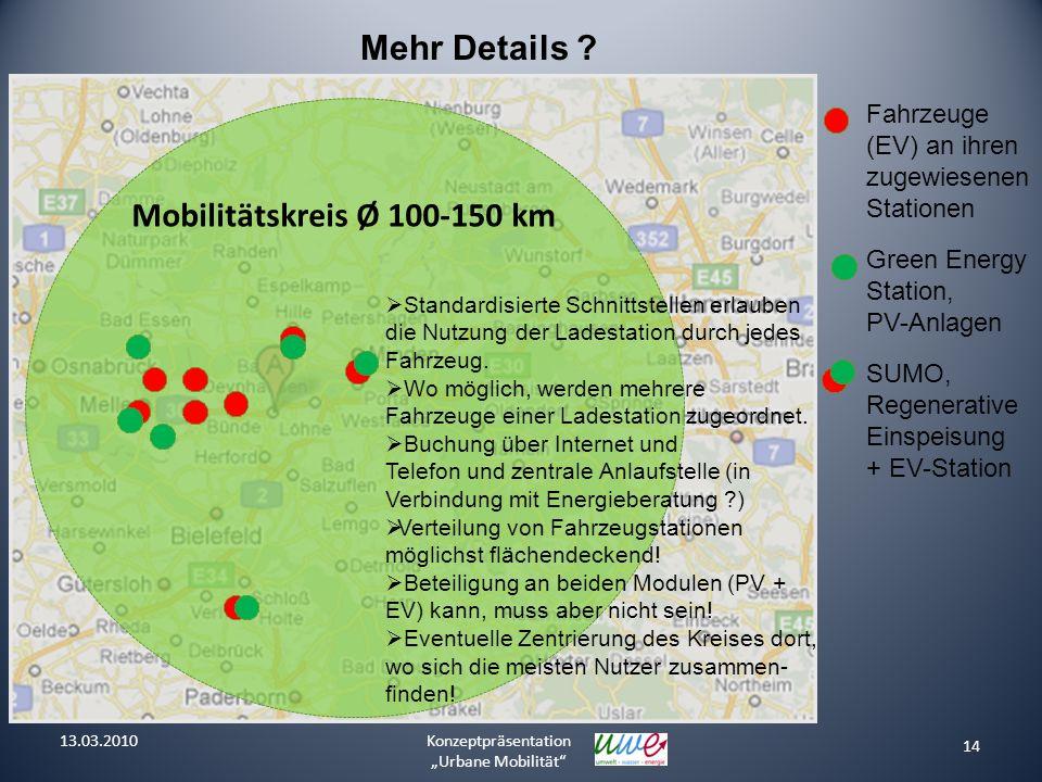 Mehr Details Mobilitätskreis Ø 100-150 km