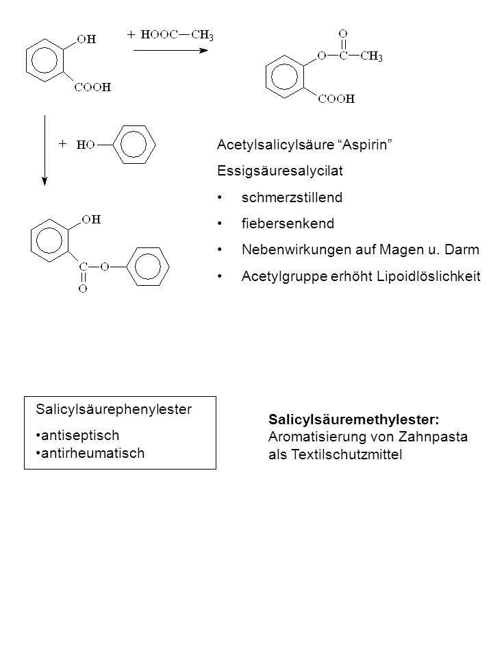 Acetylsalicylsäure Aspirin