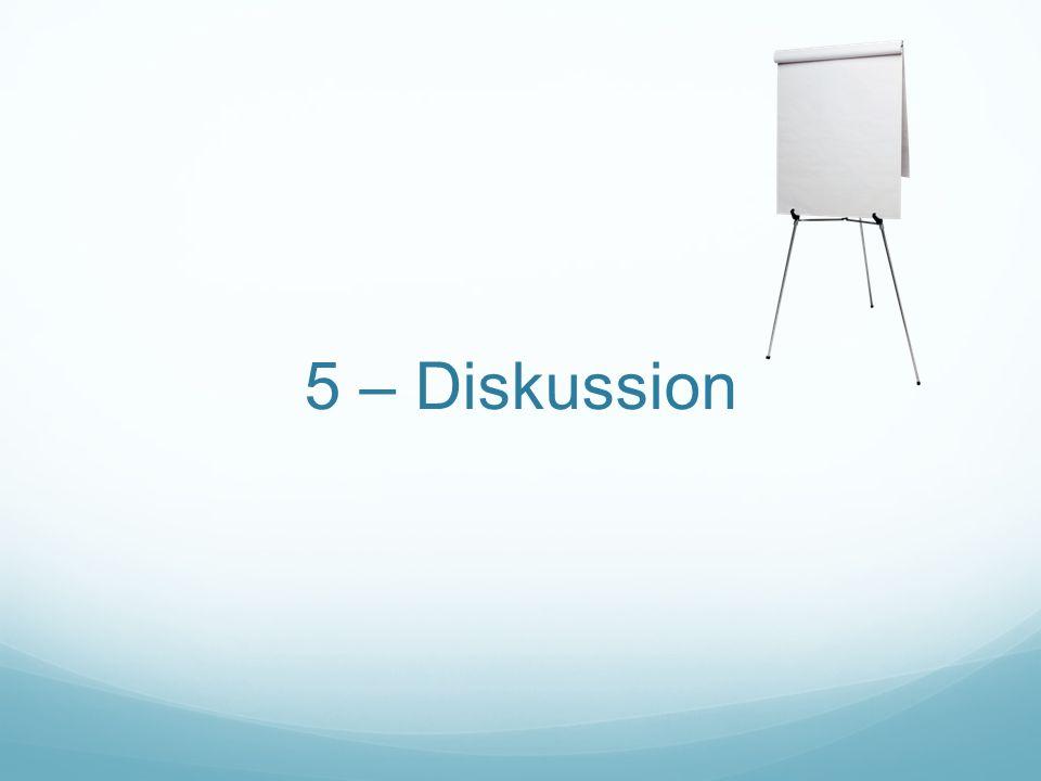 5 – Diskussion Informationsverteilung als grundlegendes Merkmal für Diversität