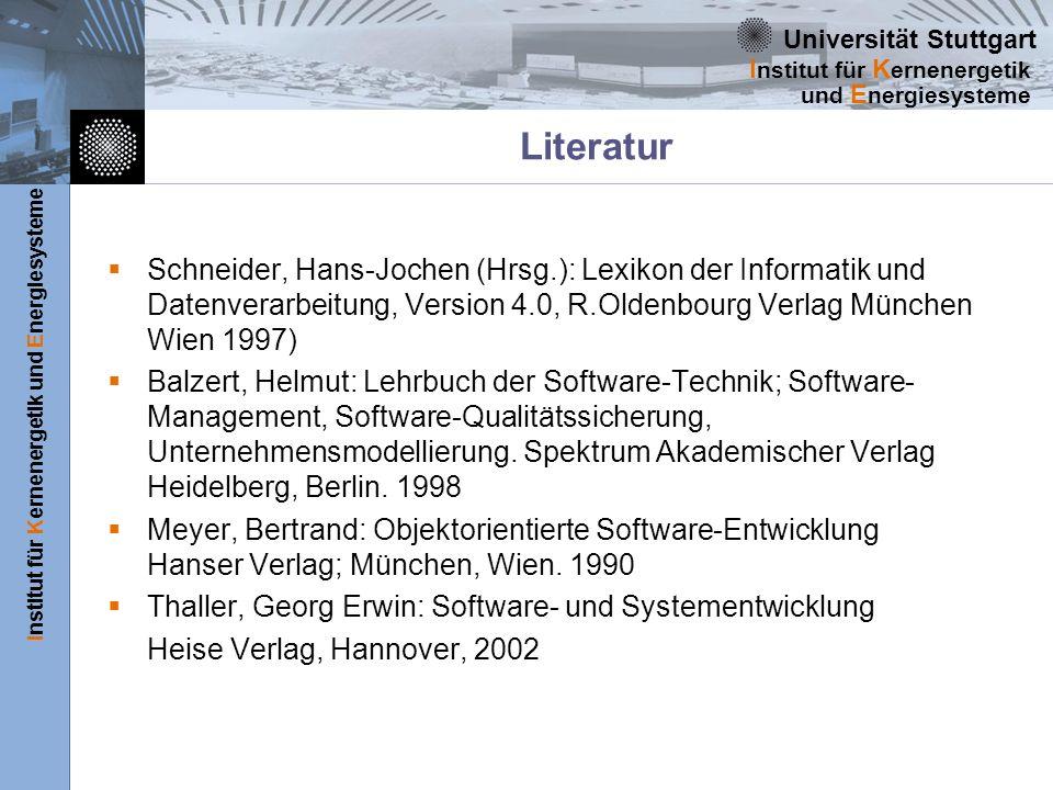 LiteraturSchneider, Hans-Jochen (Hrsg.): Lexikon der Informatik und Datenverarbeitung, Version 4.0, R.Oldenbourg Verlag München Wien 1997)