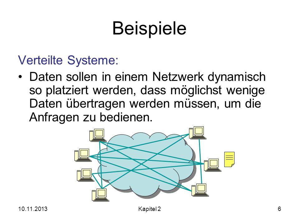 Beispiele Verteilte Systeme: