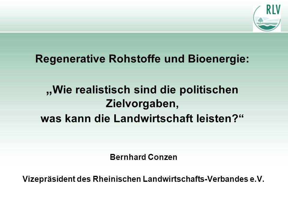 Vizepräsident des Rheinischen Landwirtschafts-Verbandes e.V.