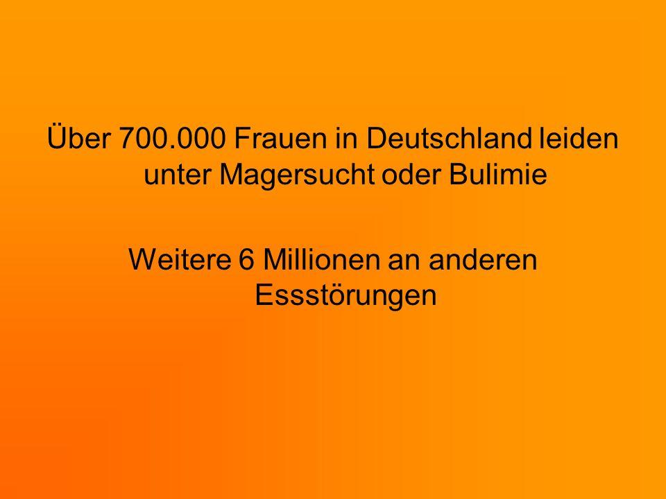 Weitere 6 Millionen an anderen Essstörungen