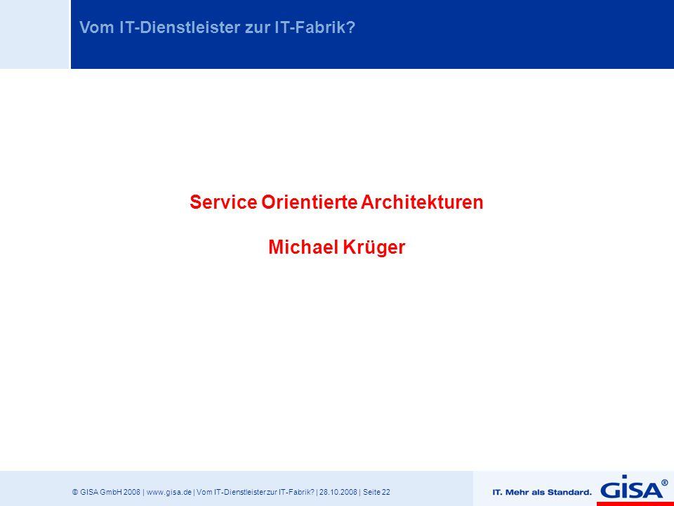Service Orientierte Architekturen
