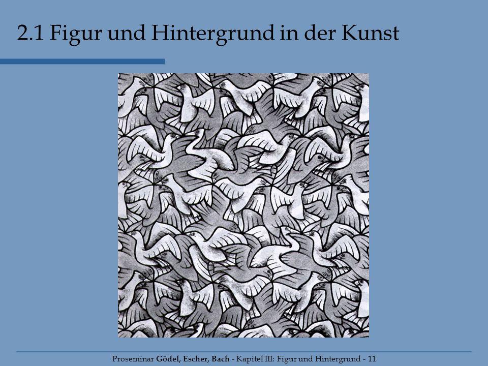 2.1 Figur und Hintergrund in der Kunst