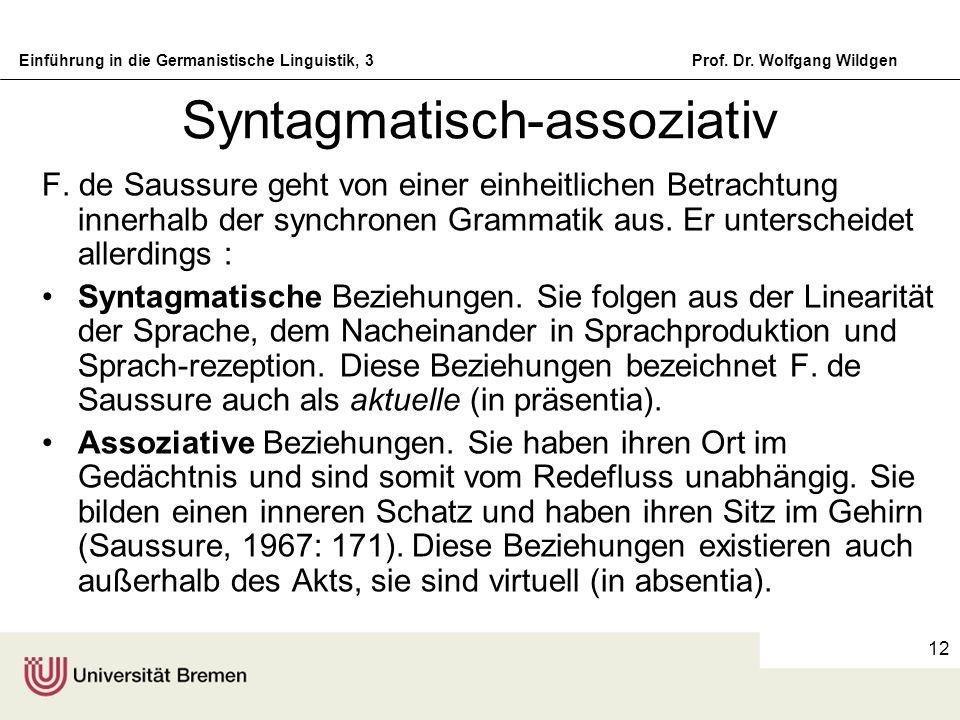 Syntagmatisch-assoziativ