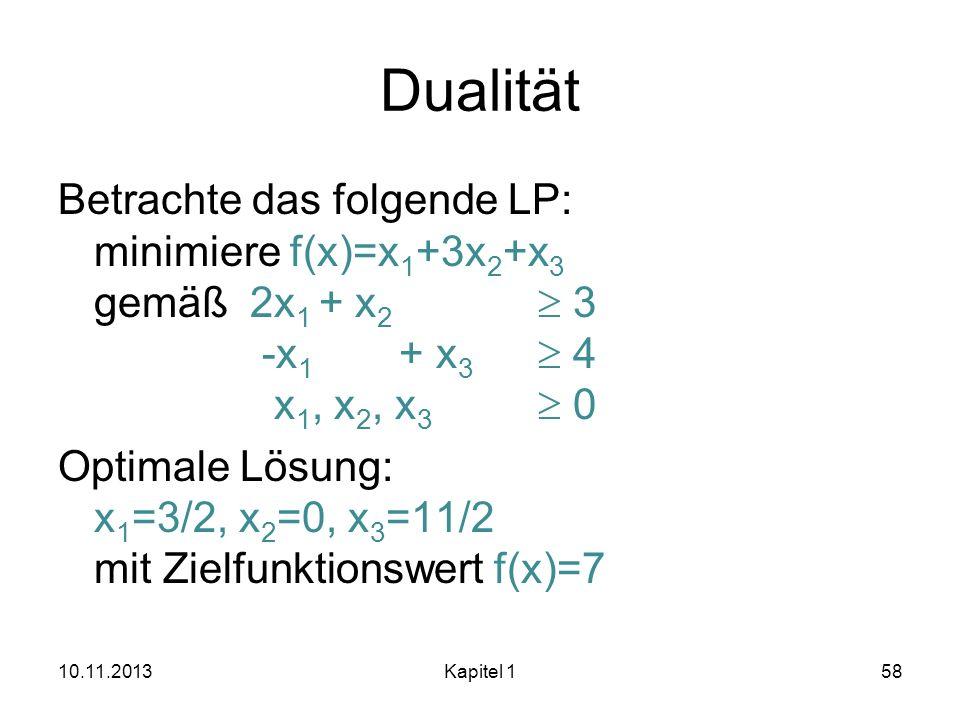 Dualität