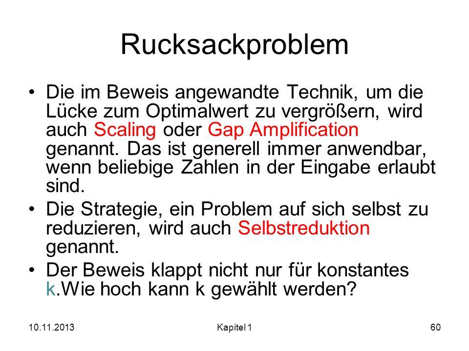 Rucksackproblem