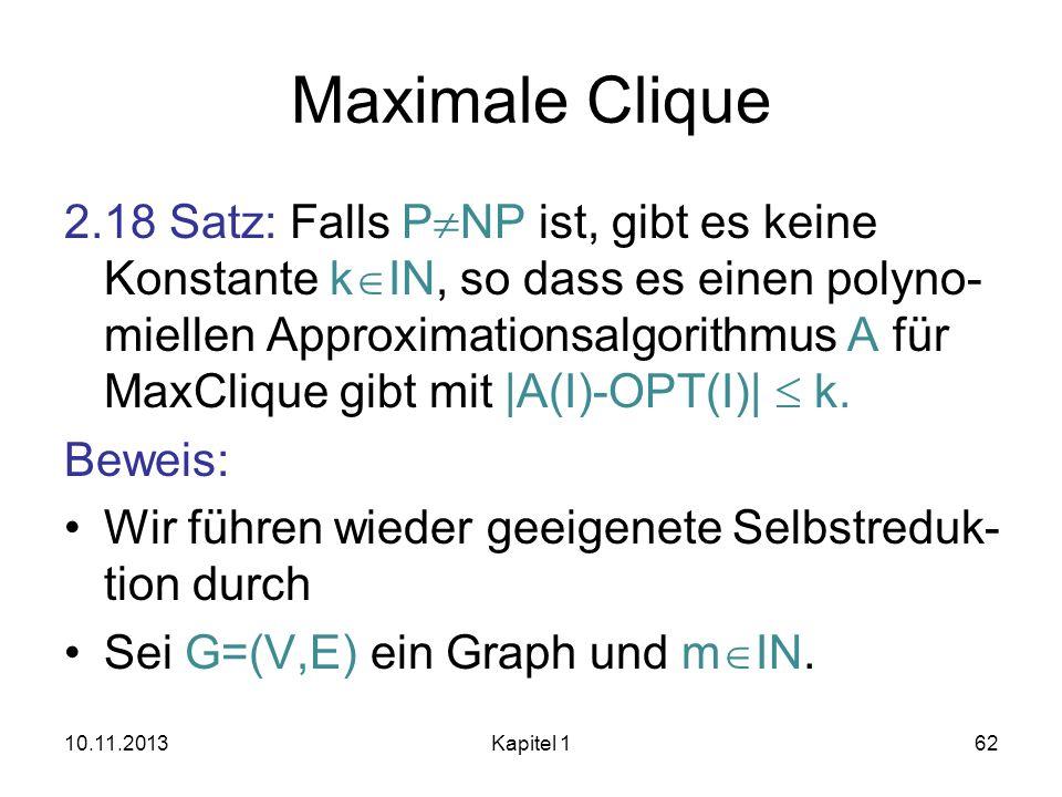 Maximale Clique
