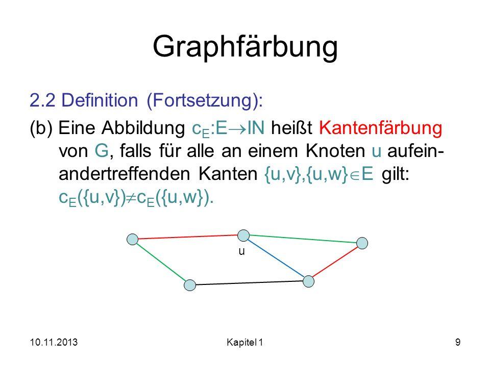 Graphfärbung
