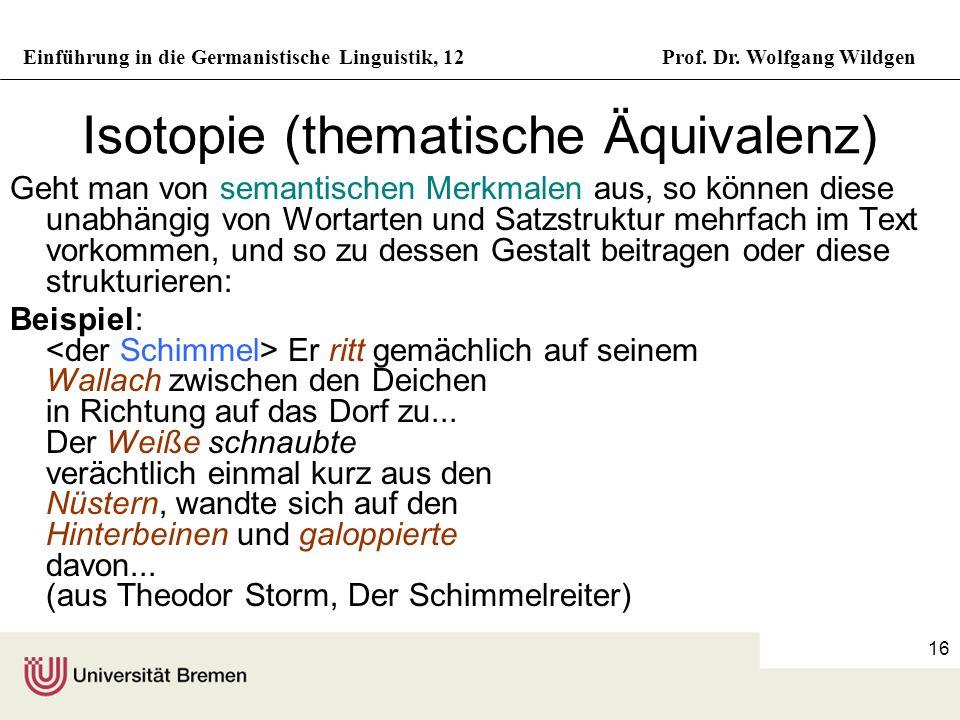 Isotopie (thematische Äquivalenz)