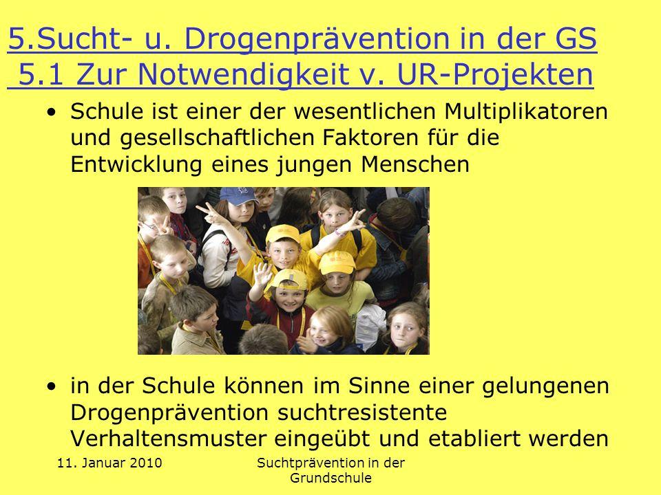 Suchtprävention in der Grundschule