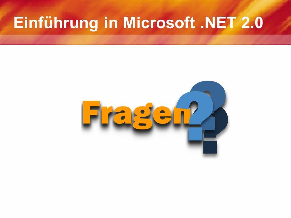 Einführung in Microsoft .NET 2.0