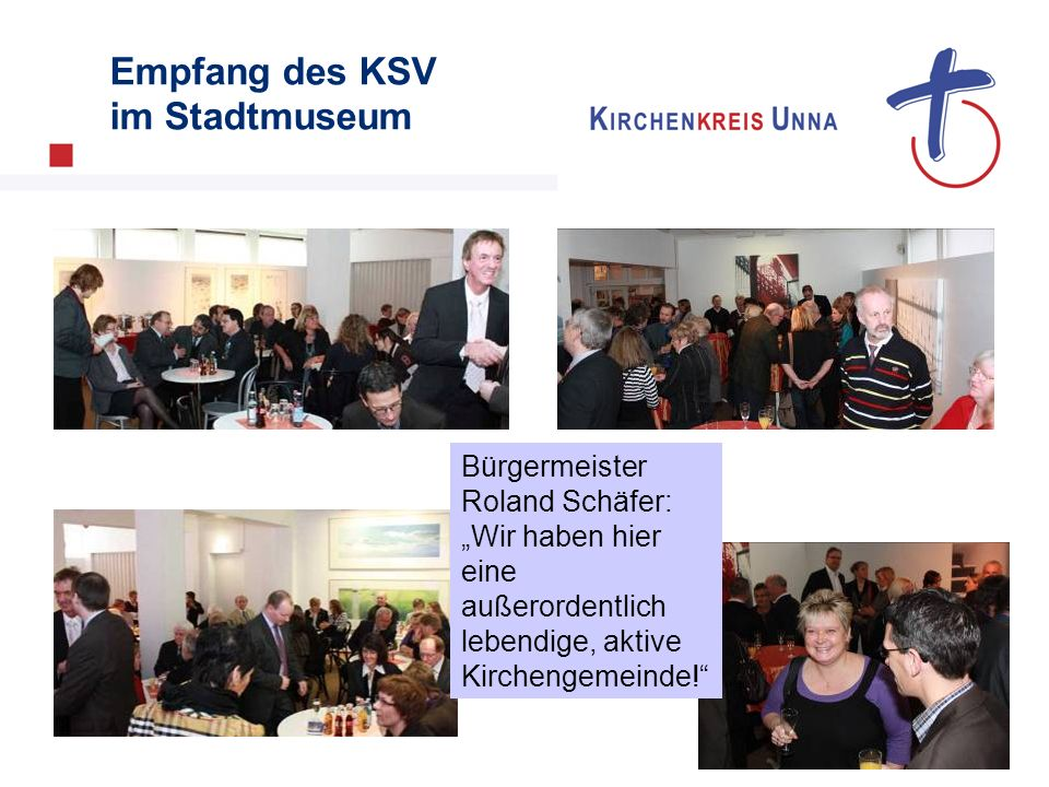 Empfang des KSV im Stadtmuseum