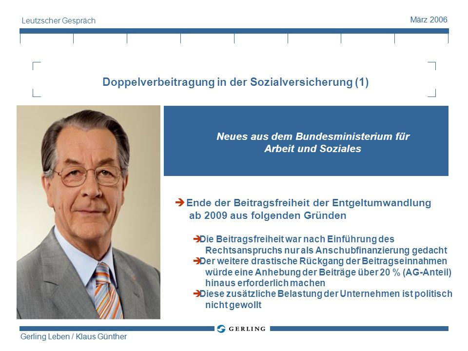 Doppelverbeitragung in der Sozialversicherung (1)