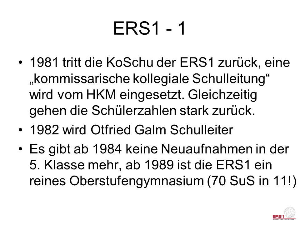 ERS1 - 1