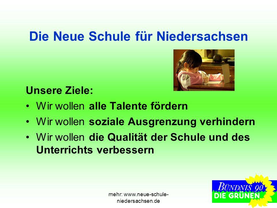 Die Neue Schule für Niedersachsen