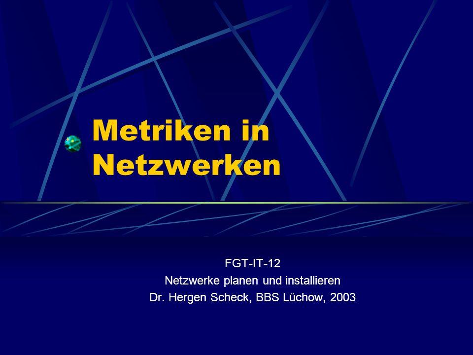 Metriken in Netzwerken
