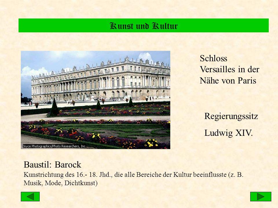 Schloss Versailles in der Nähe von Paris