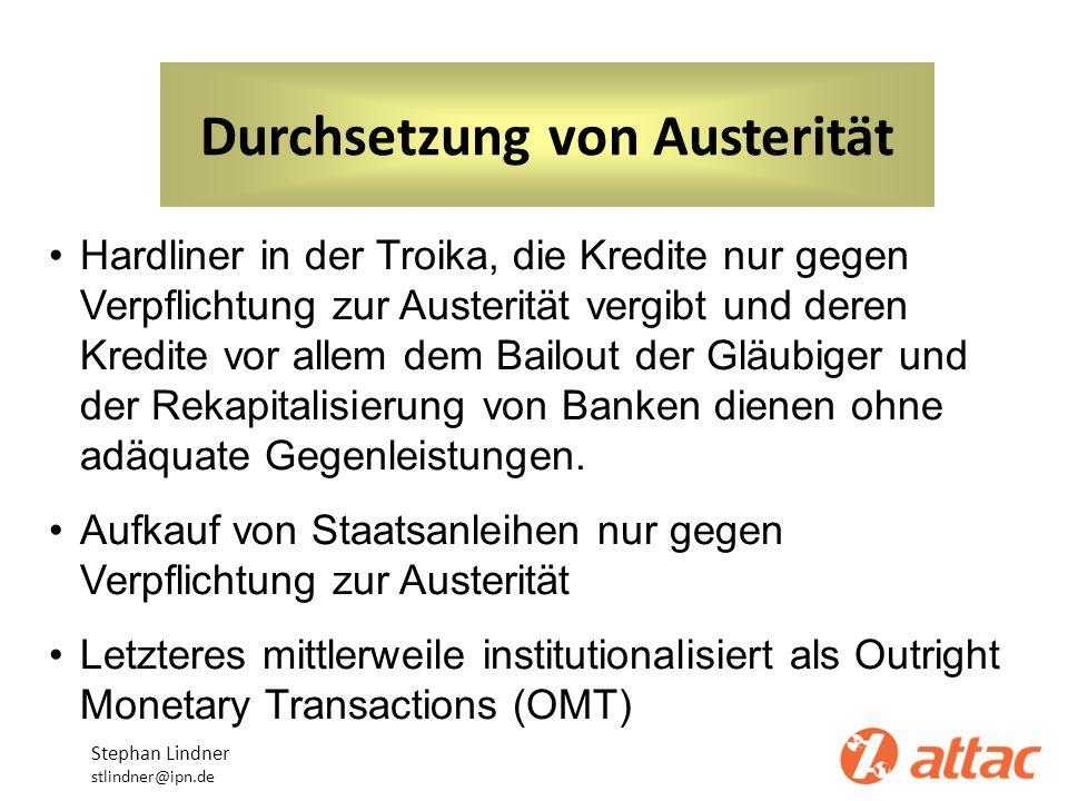 Durchsetzung von Austerität