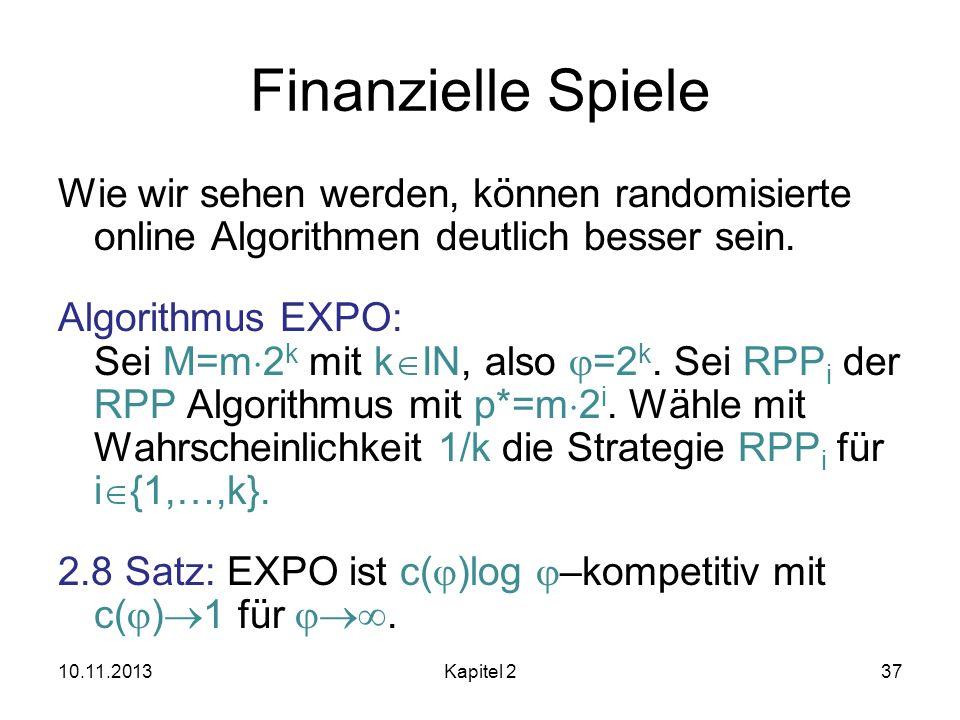Finanzielle Spiele
