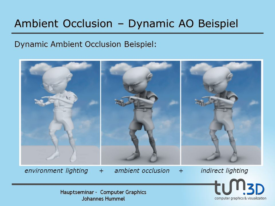 Ambient Occlusion – Dynamic AO Beispiel