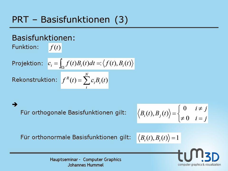 PRT – Basisfunktionen (3)