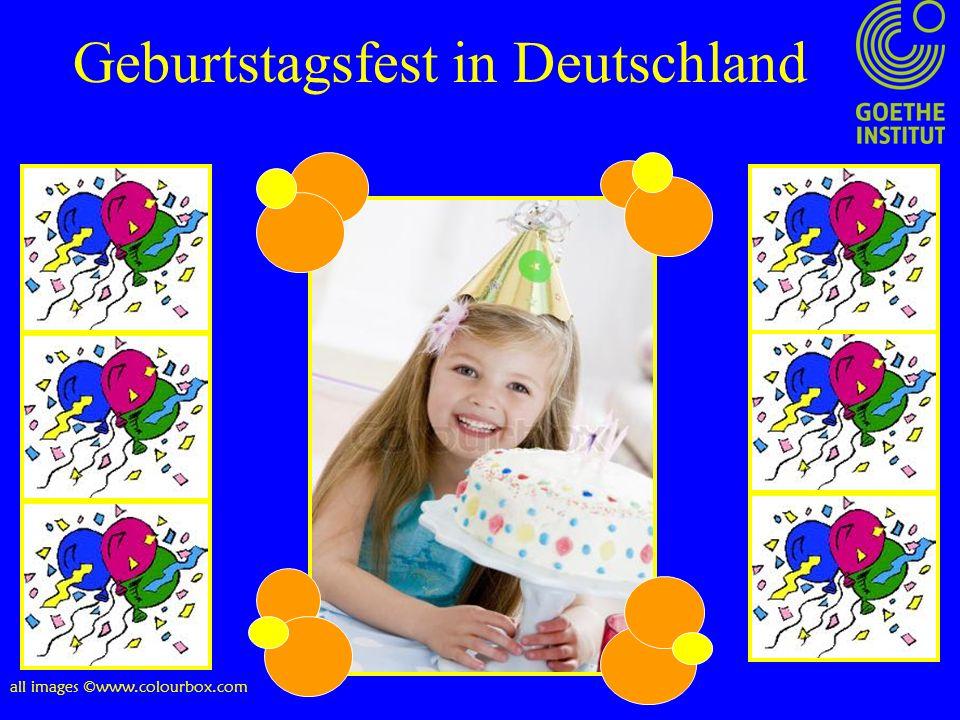 Geburtstagsfest in Deutschland