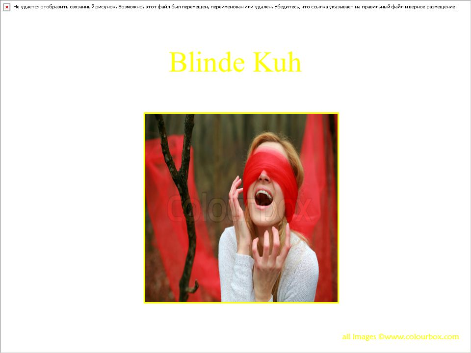 Blinde Kuh all images ©