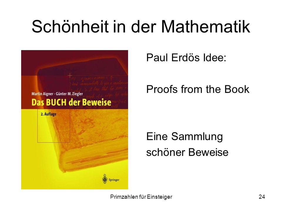 Schönheit in der Mathematik