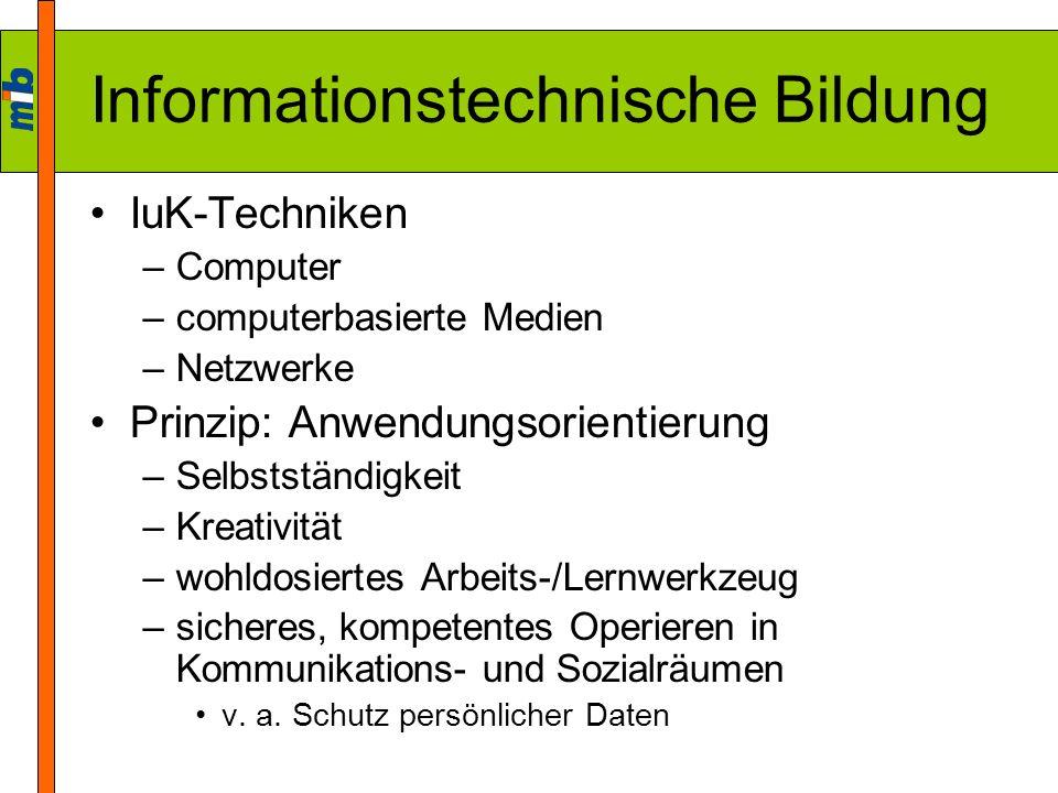 Informationstechnische Bildung
