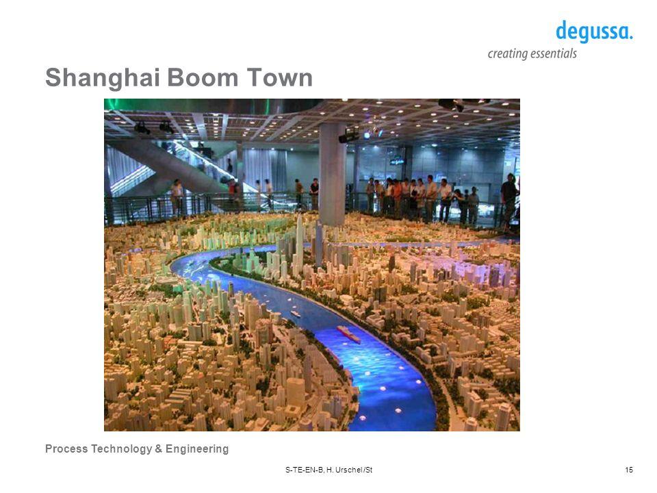 Shanghai Boom Town S-TE-EN-B, H. Urschel /St Datum