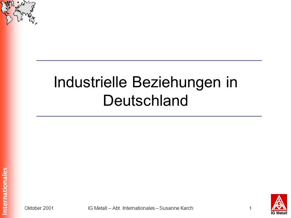 Industrielle Beziehungen in Deutschland