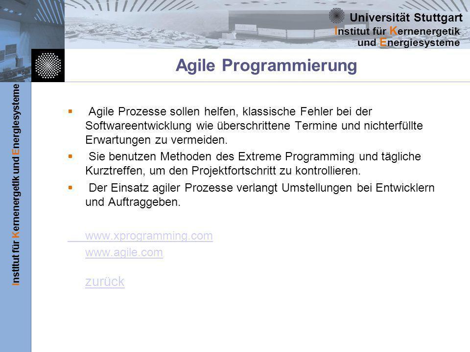 Agile Programmierung