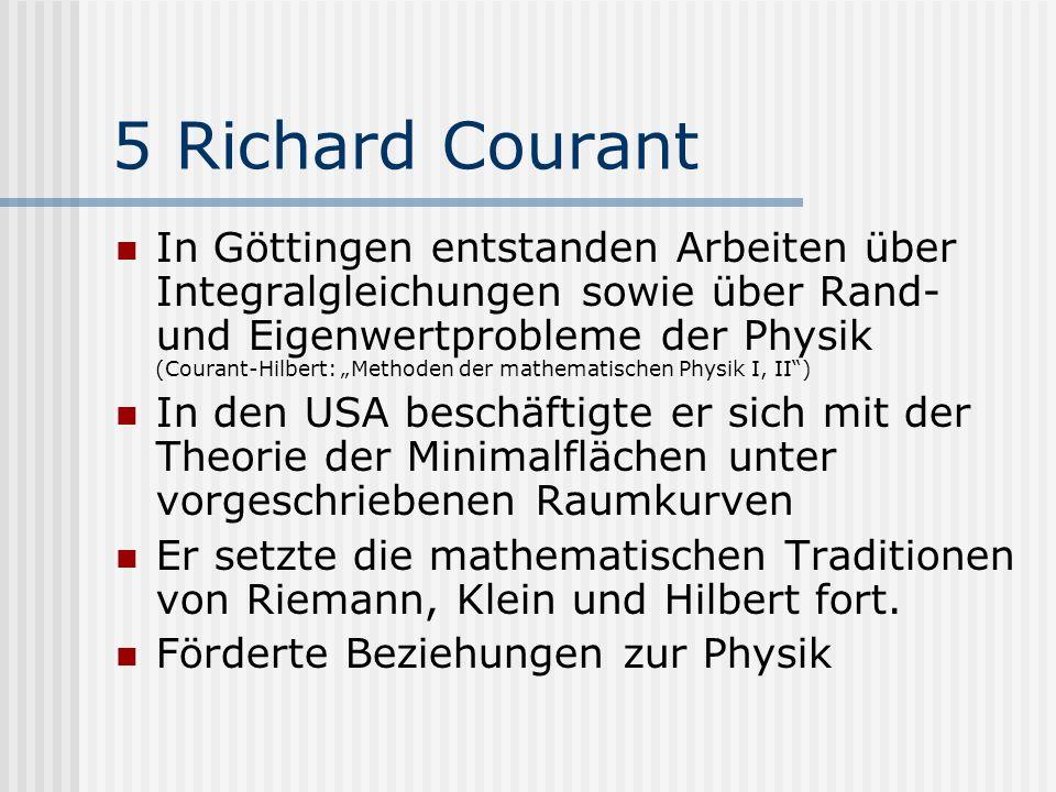 5 Richard Courant