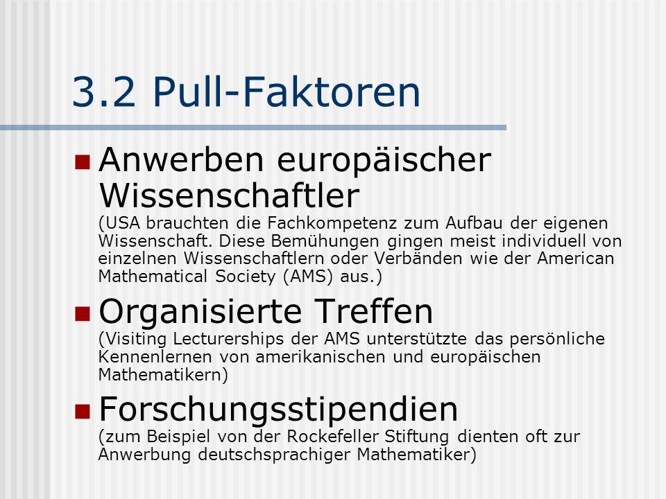 3.2 Pull-Faktoren