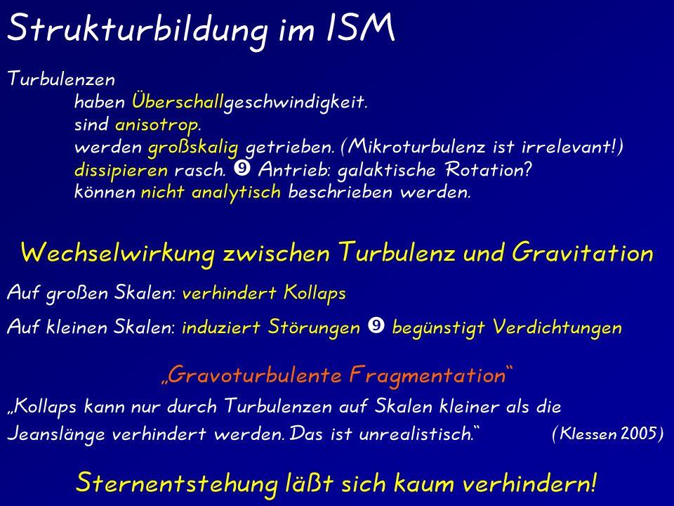 Strukturbildung im ISM