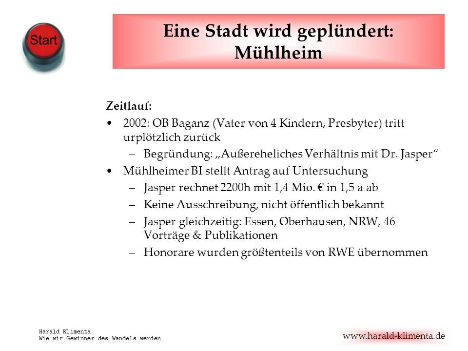 Eine Stadt wird geplündert: Mühlheim