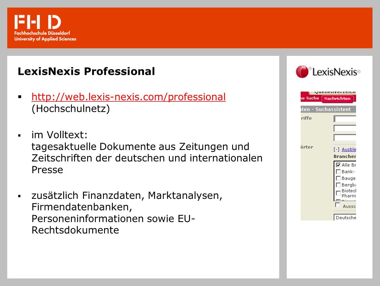 LexisNexis Professional