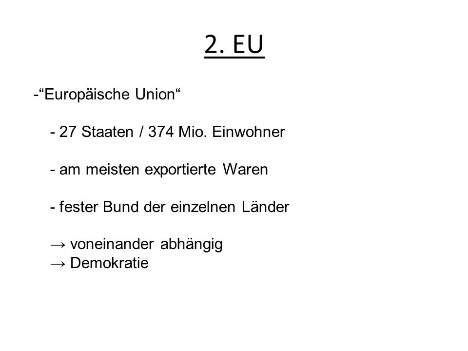 2. EU