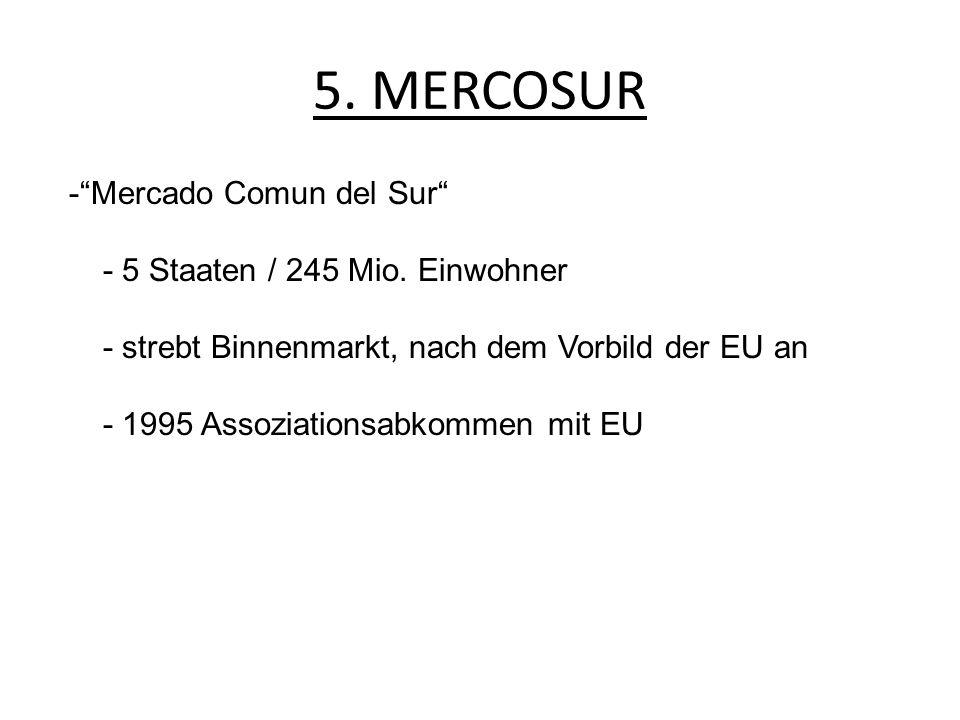 5. MERCOSUR