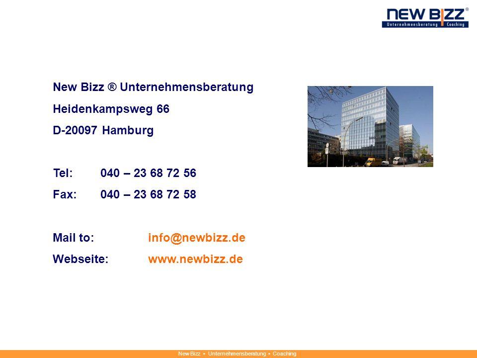 New Bizz ® Unternehmensberatung