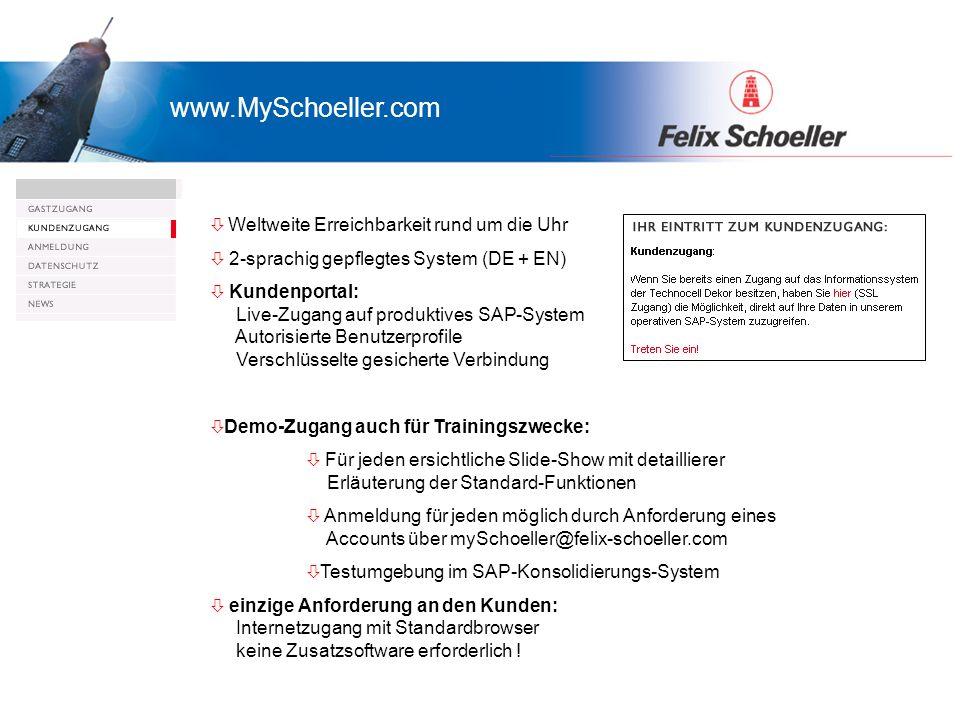  Präsentation myTechnocell.com Gast- und Kundenzugang