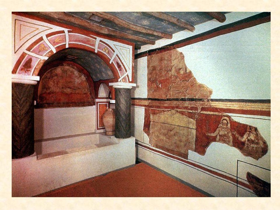 Das älteste erhaltene Taufbecken aus der Hauskirche von Dura Europos (um 230)