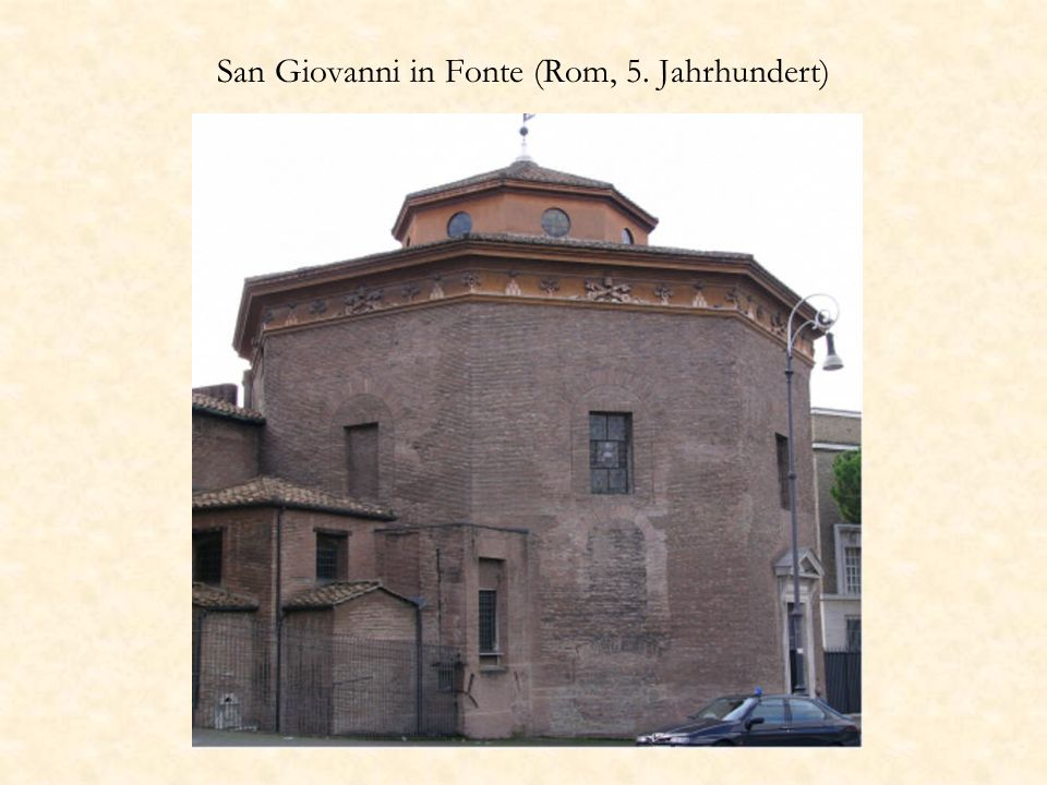 San Giovanni in Fonte (Rom, 5. Jahrhundert)