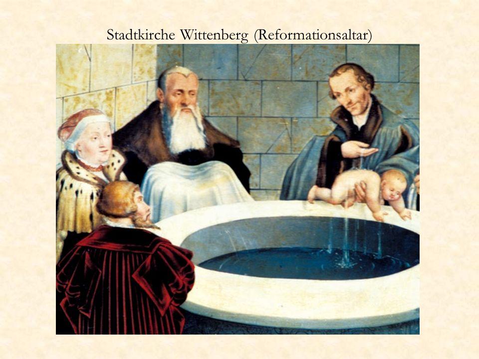 Stadtkirche Wittenberg (Reformationsaltar)