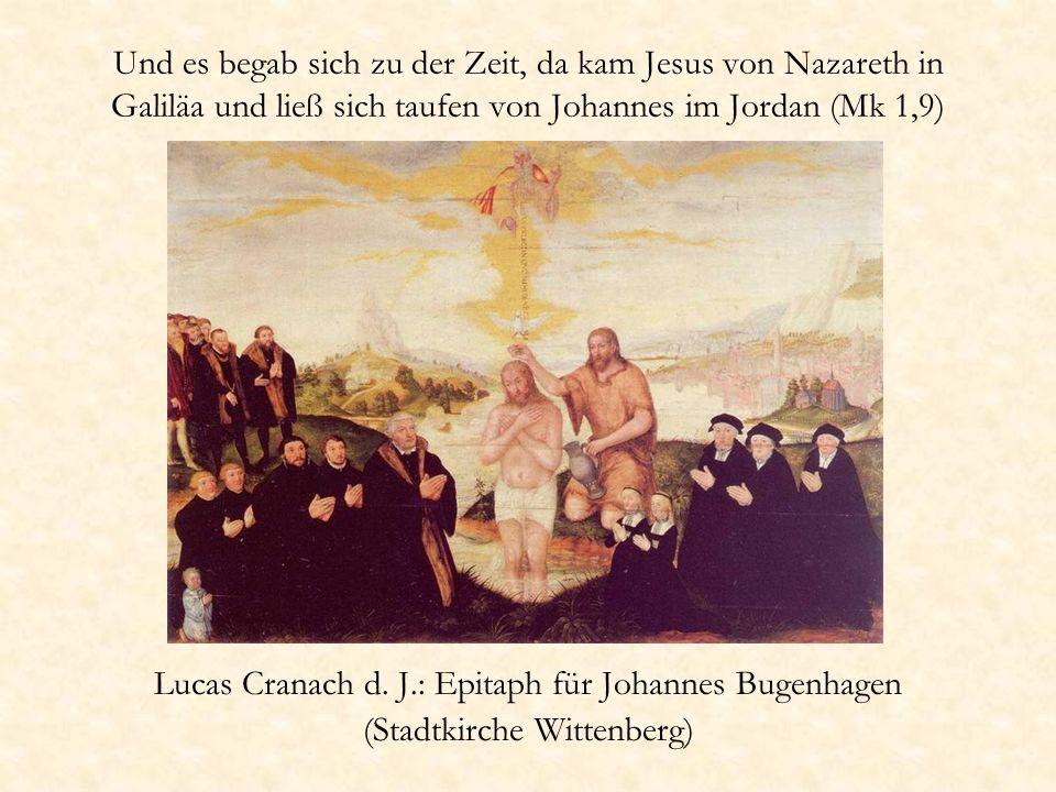 Lucas Cranach d. J.: Epitaph für Johannes Bugenhagen